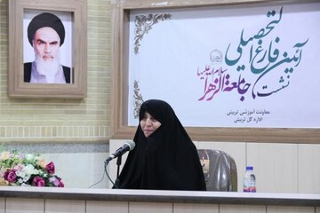 مرحومه خانم بهشتی در تدریس هم نگاه تبلیغی داشت