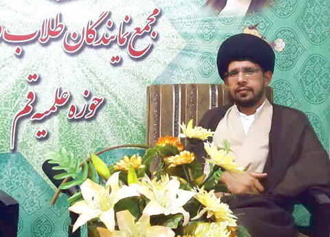 حجت الاسلام سید احمد اسلامی خواه - نماینده طلاب کهگیلویه