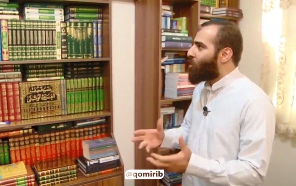 فیلم |  گزارش از شعرخوانی سید محمد مهدی شفیعی در محضر رهبر انقلاب