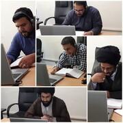 شرکت طلاب سطوح عالی ایلام در امتحانات شفاهی آنلاین