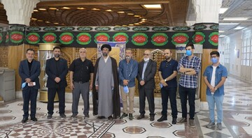 Lebanese delegation visits AQR libraries and museums