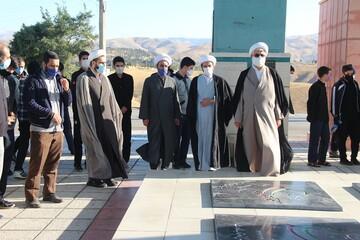 طلاب قزوینی به تپه نورالشهدا رفتند + عکس