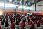 تصاویر/ پویش اهدای نوشت افزار به دانش آموزان مناطق محروم در بجنورد