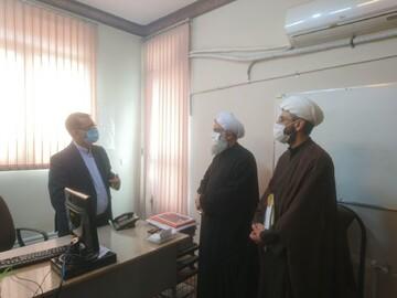بازدید مسئول دبیرخانه دائمی دستاوردهای حوزه از خبرگزاری حوزه