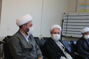 دیدار مدیر حوزه علمیه کردستان با مسئول نهاد نمایندگی ولی فقیه در سپاه+ عکس