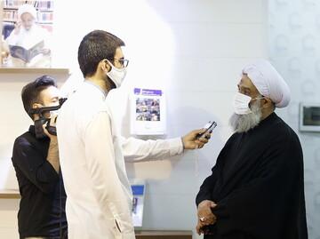 فیلم | بازدید مسئول دبیرخانه دائمی دستاوردهای حوزه از خبرگزاری حوزه