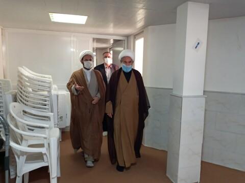 تصاویر/ بازدید مدیرکل صداوسیما استان از مجتمع حوزوی خواهران الزهرا (س) سمنان