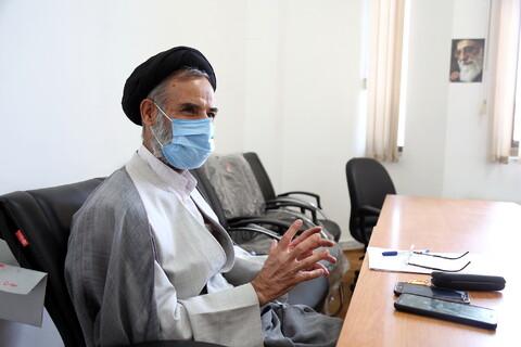 تصاویر/ مصاحبه-رجایی گروه اقتصاد موسسه امام