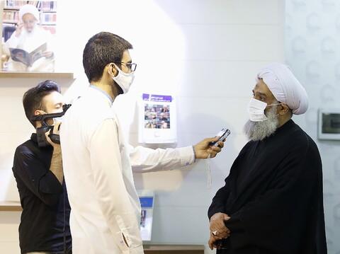 تصاویر/ بازدید حجت السلام والمسلمین فرحانی از خبرگزاری حوزه