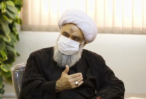 بازدید حجت الاسلام والمسلمین فرحانی مسئول دبیرخانه دائمی دستاوردهای حوزه از رسانه رسمی حوزه