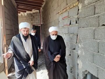 بازدید قائم مقام مدیر حوزه های علمیه از پروژه مدرسه علمیه آیت الله بهاری