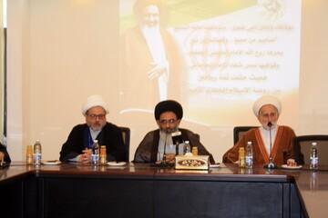 تجمع العلماء المسلمين في لبنان يکرم ممثل الامام الخامنئي في سوريا
