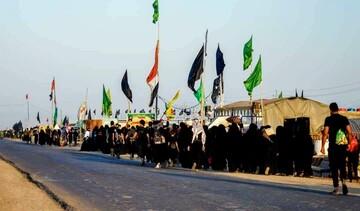 بالصور/ محافظة واسط العراقية تلبّي نداء الأربعين وتنطلق صوب قبلة العاشقين