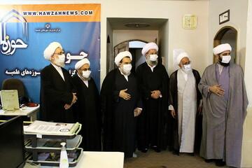 تصاویر/ بازدید اعضای هیئت رئیسه مجمع عمومی جامعه مدرسین از رسانه رسمی حوزه