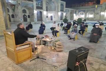 تصاویر/ یادواره شهدای دفاع مقدس در مدرسه علمیه امام صادق(ع) مشکات کرمانشاه