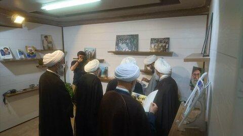 بازدید اعضای هیئت رئیسه مجمع عمومی جامعه مدرسین از خبرگزاری حوزه