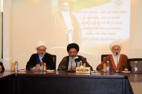 سید ابوالفضل طباطبایی اشکذری نماینده ولی فقیه در سوریه