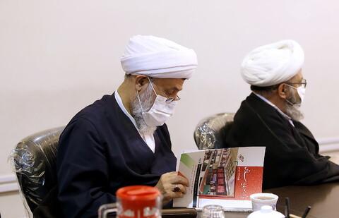 بازدید اعضای هیئت رئیسه مجمع عمومی جامعه مدرسین از رسانه رسمی حوزه