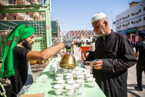 رسیدن اولین زائران اربعین حسینی به کربلای معلی