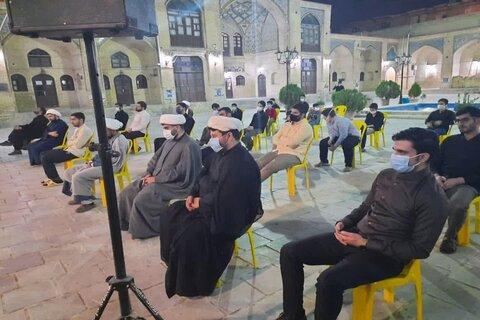 تصاویر/ یادواره شهدای دفاع مقدس وگفتمان مقاومت در مدرسه علمیه امام صادق(ع) مشکات کرمانشاه