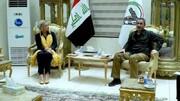 عراق ،اقوام متحدہ کی نمائندہ کی حشد الشعبی ہیڈکوارٹر کے سربراہ سے ملاقات