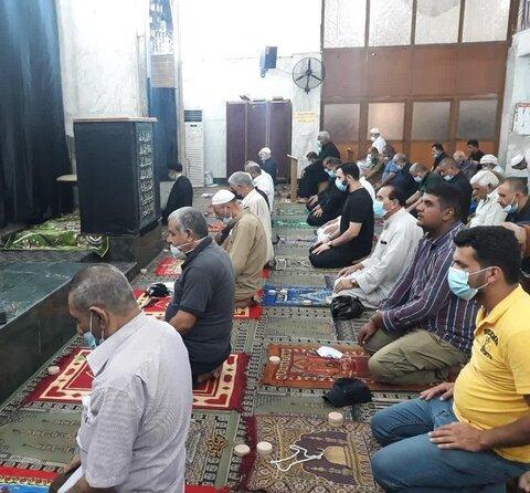 خطبة الجمعة في جامع الخلاني ببغداد