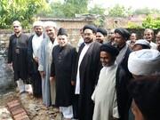 موضع املو ضلع جونپور میں مسجد کی تعمیر نو کا سنگ بنیاد+تصاویر