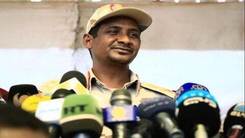 """محمد حمدان دقلو """"حمیدتی"""" نایب رئیس شورای حاکمیتی سودان"""