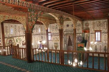 Mosque of spellbinding decorations draws visitors to Denizli in southwest Turkey