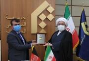 دیدار سفیر جمهوری اسلامی افغانستان با رئیس جامعةالمصطفی