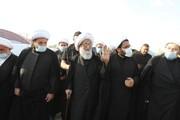 آية الله النجفي يبتهل إلى الباري أن يزيح الوباء عن العالم والعراقيين والمؤمنين والشيعة  + صور
