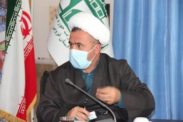 برپایی موکب حوزه علمیه در زندان مرکزی قزوین