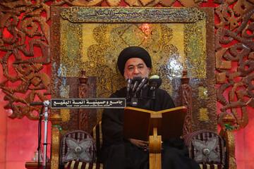 الأمة التي ليس فيها الإمام الحسين (عليه السلام) ناقصة المعنويات