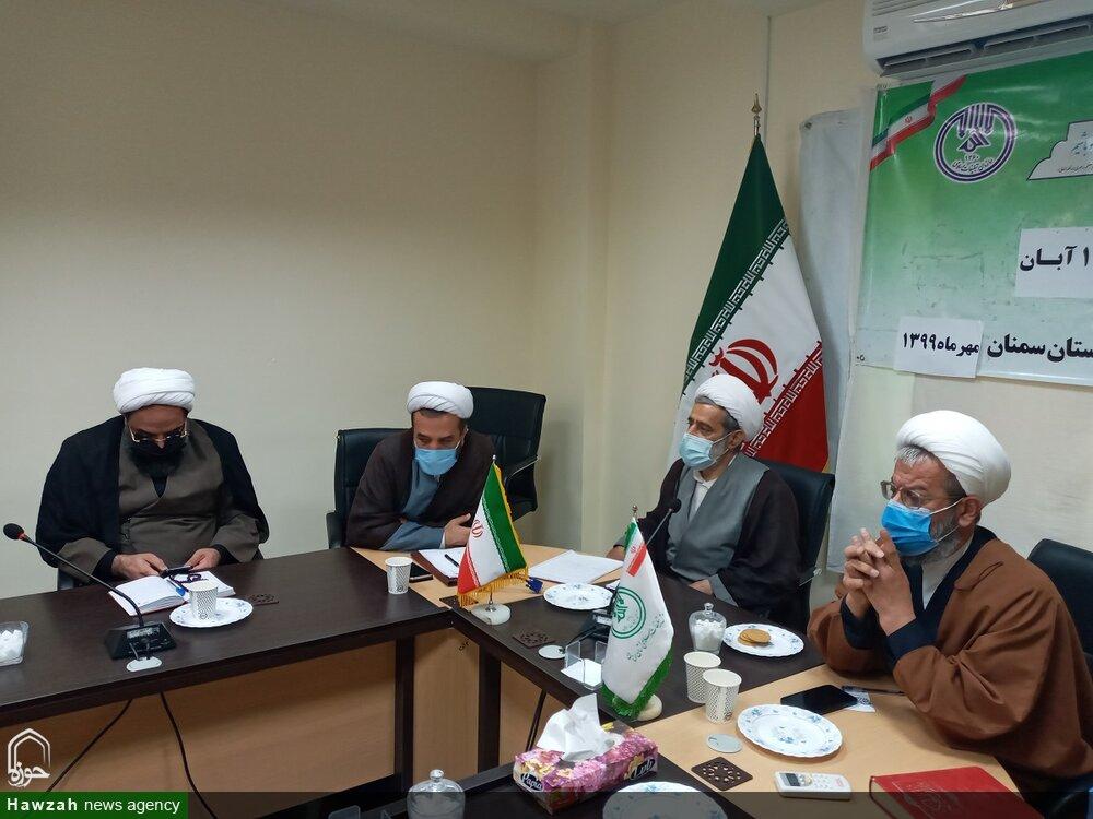 تصاویر/ نشست هماهنگی اربعین حسینی و دهه آخر صفر در سمنان