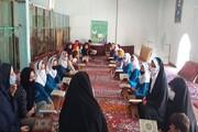 اردوی جهادی مبلغان خواهر در شهرستان فامنین