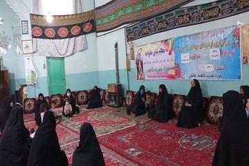 تصاویر/ اردوی جهادی مبلغان خواهر در شهرستان فامنین