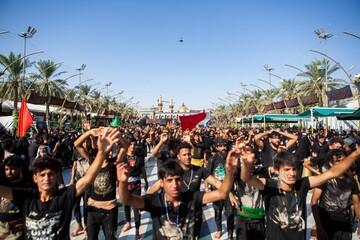 بالصور/ مواكبُ عزاء اللّطم تبدأ فعّالياتها العزائيّة لإحياء أربعينيّة الإمام الحسين (عليه السلام)