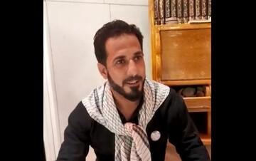 فیلم | زیارت نیابتی زائران عراقی از طرف ملت ایران