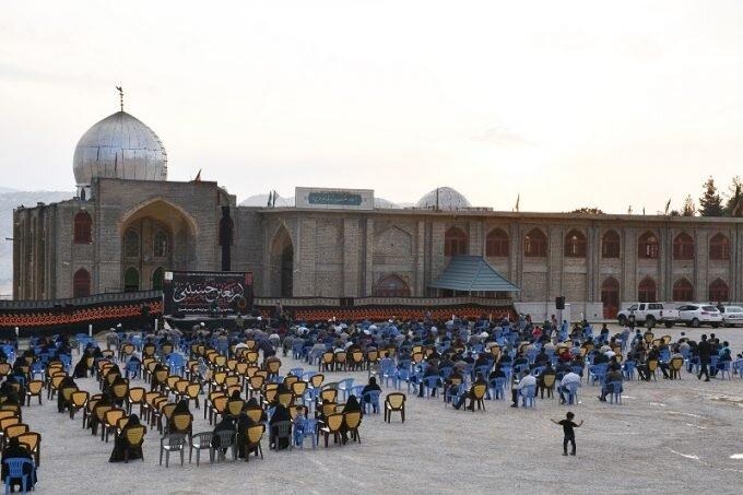 تصاویر/ مراسم جاماندگان اربعین حسینی در یاسوج