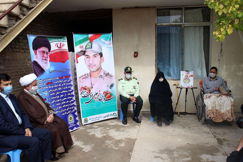 تصاویر/ سه شنبه های تکریم در منزل شهید مرزبان بجنوردی