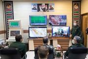 تصاویر/ الحاق سامانه راداری قدیر هوا فضای سپاه به شبکه پدافندی کشور