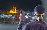فیلم | به تو از دور سلام/ قرائت زیارت اربعین، همنوا با رهبر انقلاب
