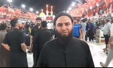 فیلم | روحانی عراقی به قول خود عمل کرد