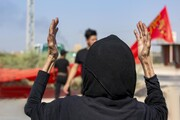 فیلم | مراسم پیاده روی اربعین در دمشق