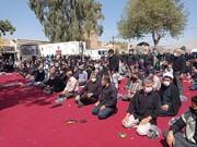 نماز ظهر اربعین در شیراز اقامه شد