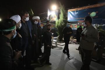 تصاویر| بازدید مدیران استان فارس از غرفه خبرگزاری حوزه در بین الحرمین شیراز