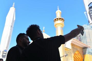 تصاویر اختصاصی خبرگزاری حوزه از حرم امیرالمومنین(ع) در اربعین امسال