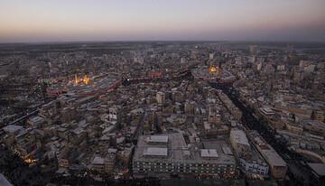 بالصور/ الجموع المليونية تحيي مراسيم زيارة الاربعين في كربلاء المقدسة