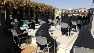 تصاویر/ مراسم عزاداری اربعین حسینی در مدرسه علمیه حضرت زینب(س) یزد