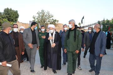تصاویر| بازدید نماینده ولی فقیه در فارس از مواکب اربعین حسینی در بین الحرمین شیراز